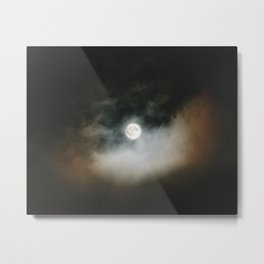 Moon | Nature and Landscape Photography Metal Print