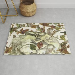 Green Man of the Forest Rug
