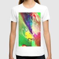 graffiti T-shirts featuring Graffiti  by Shannon Curtis