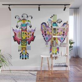 Kachina Butterfly 1 Wall Mural