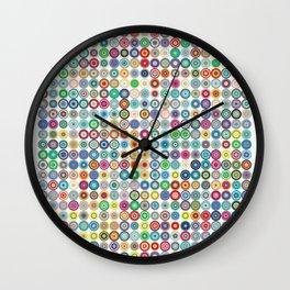 Crazy Dots Wall Clock