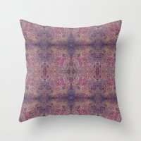 chakra Throw Pillows featuring Chakra Flowers by bunglo by shay spaniola