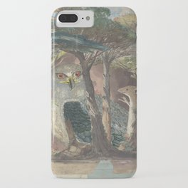 A Hemline of Forest Through Smoke iPhone Case