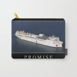 Promise: Inspirational Quote and Motivational Poster Carry-All Pouch