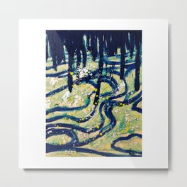 My Way Home Is Through You Metal Print