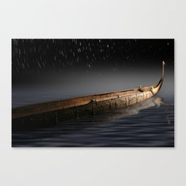 Bonito - blue Canvas Print