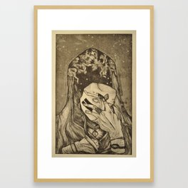 Cosmic Reveal Framed Art Print