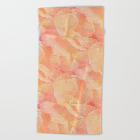 Nothing But Peach Beach Towel