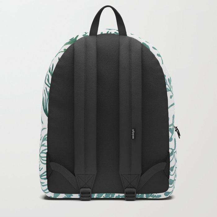 GREEN HERBS Backpack