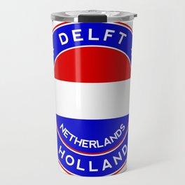 Delft, Holland, Netherlands Travel Mug
