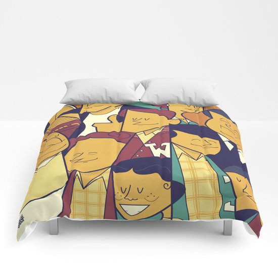 Happy Days Comforters