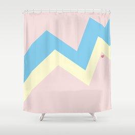 PASTEL EASTER EGG I #minimal #art #design #easter #egg #kirovair #buyart #decor #home Shower Curtain