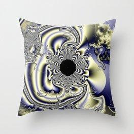 Super Collider Throw Pillow