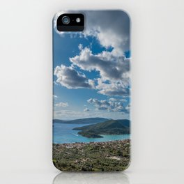Nidri bay in Lefkas iPhone Case