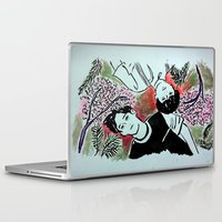 kpop Laptop & iPad Skins featuring Forest Floor by Ahri Tao