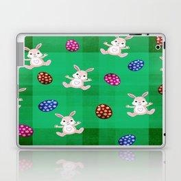 Easter Bunny Pattern ( Version II ) Laptop & iPad Skin