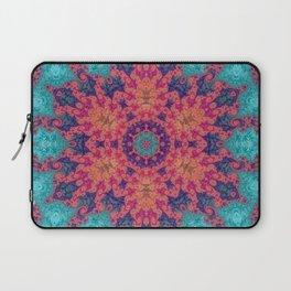 Rainbow Fractal Kaleidoscope Laptop Sleeve