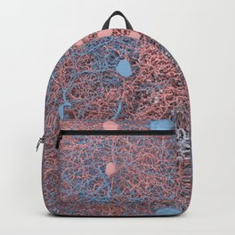 Rose Quartz and Serenity Neurons Backpack