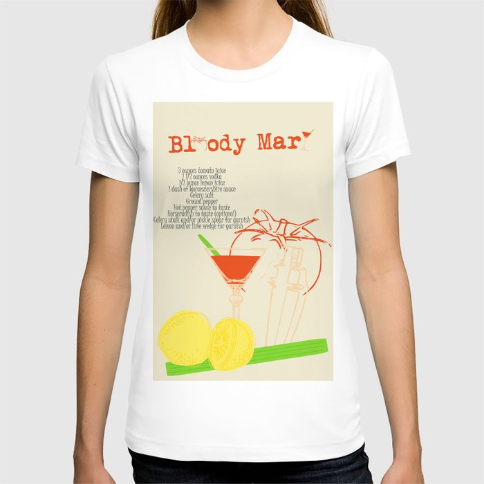 Bloody Mary Cocktail T-shirt