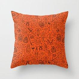 Halloween Party IV Throw Pillow