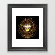 Shin Framed Art Print