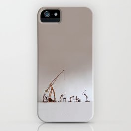 BoneFree's Factory iPhone Case