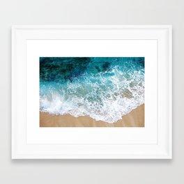 Ocean Waves I Framed Art Print