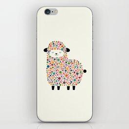 Bubble Sheep iPhone Skin