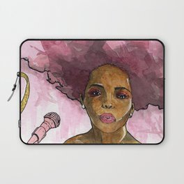 Macy Gray's Greatest Hits Laptop Sleeve
