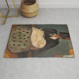 12,000pixel-500dpi - Edvard Munch - Inheritance - Digital Remastered Edition Rug