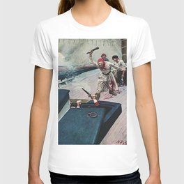 """""""The Real Fight Began"""" Pirate Art by Howard Pyle T-shirt"""