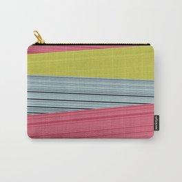 Bubblegum Pop Weave Carry-All Pouch