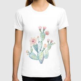 Cactus 2  White #society6 #buyart T-shirt