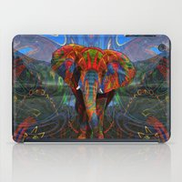 elephant iPad Cases featuring Elephant by Waelad Akadan