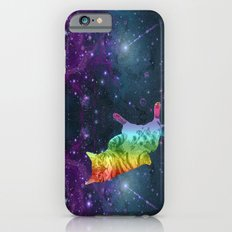 Rainbow Kitty Floating in Space Slim Case iPhone 6s