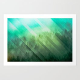 Emerald Adventure Awaits Art Print
