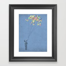 The Lightest Elephant Framed Art Print