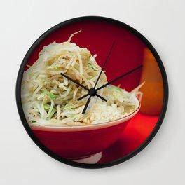 Ramen Jiro Wall Clock