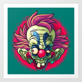 Killer Clown Art Print