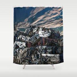 Breakage Shower Curtain