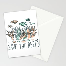 Underwater Life Stationery Cards