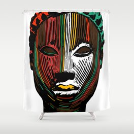 Oni Shower Curtain