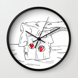 "#mymalta ""Two faces of Dwejra"" Wall Clock"