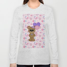 Mommy Bear Loves his Mommy Long Sleeve T-shirt