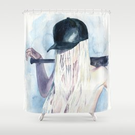 Knock-down Shower Curtain