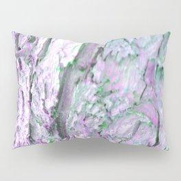 Purple Tree Bark Pillow Sham