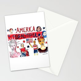 America the Beautiful Stationery Cards