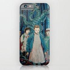 Stranger Things artwork painting iPhone 6s Slim Case