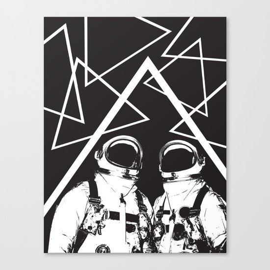 Time and Space  Canvas Print