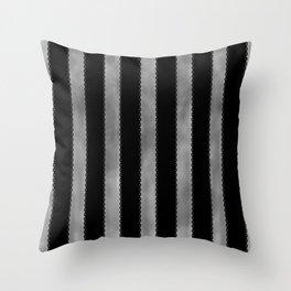 Gothic Stripes II Throw Pillow